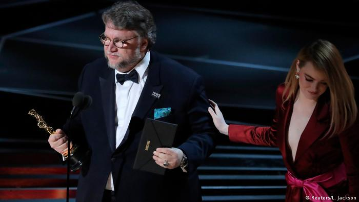 USA Oscar-Verleihung 2018 | Best Director The Shape of Water Guillermo del Toro
