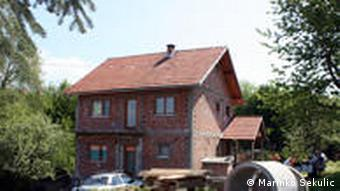 Haus der Familie Gutic in Bosnien