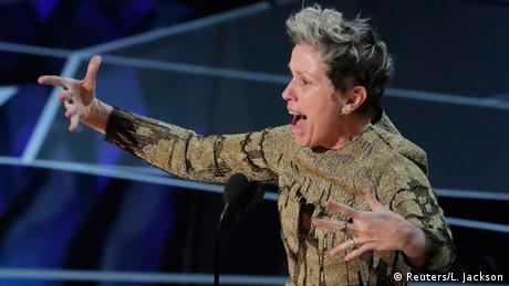 Best Actress Frances McDormand at the Oscars (Reuters/L. Jackson)
