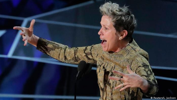Best Actress Frances McDormand at the Oscars (Reuters/L. Jackson)