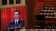 China Nationaler Volkskongress Li Keqiang