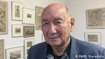 Jozef Lebenbaum (DW/M. Sieradzka)