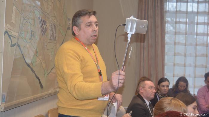 Сергей Петрухин собирает материал для своего нового видеосюжета