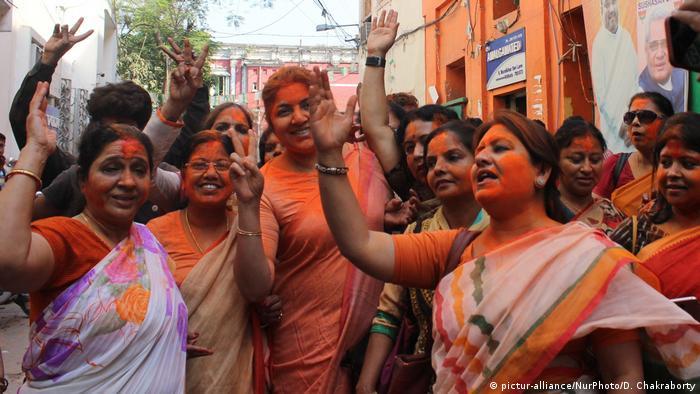 Indien Wahlen in Tripura, Meghalaya & Nagaland (pictur-alliance/NurPhoto/D. Chakraborty)