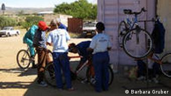 Bicycle Empowerment Centre in Katutura, Windhoek (Foto: Barbara Gruber)