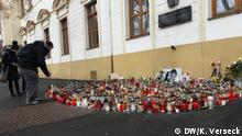 Slowakei Trauer um ermordeten Journalisten Jan Kuciak DW, Keno Verseck, 03.03.2018