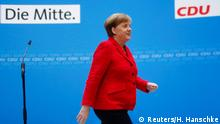 Deutschland Merkel Statment zur GroKo vor der CDU Sitrzung in Berlin
