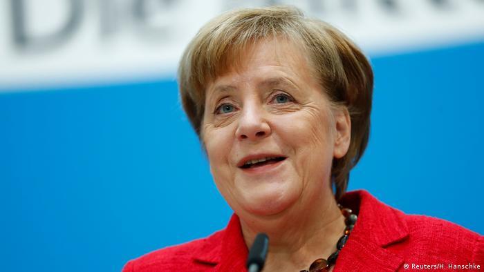 German Chancellor Angela Merkel Cdu Reuters H Hanschke