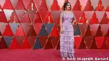 HOLLYWOOD, CA - MARCH 04: Salma Hayek attends the 90th Annual Academy Awards at Hollywood & Highland Center on March 4, 2018 in Hollywood, California. (Photo by Neilson Barnard/Getty Images)