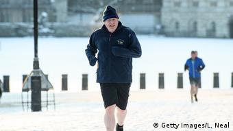 UK Foreign Minister Boris Johnson