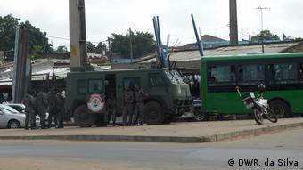 Mosambik öffentlicher Verkehr, Busfahrten | Polizei & Sicherheit