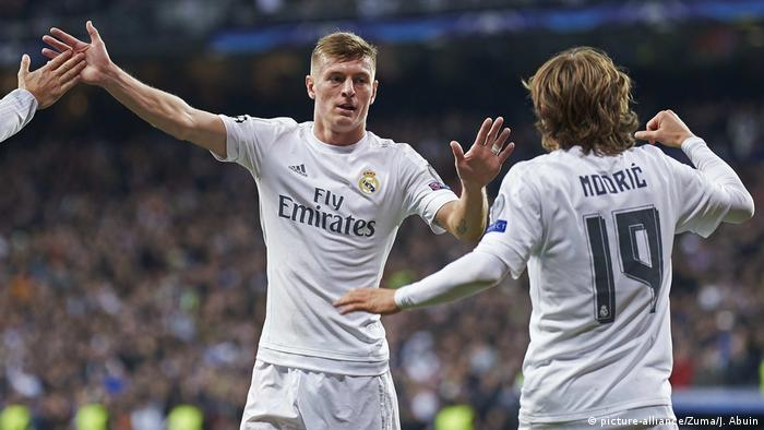 Real Madrid Toni Kroos Luka Modric (picture-alliance/Zuma/J. Abuin)
