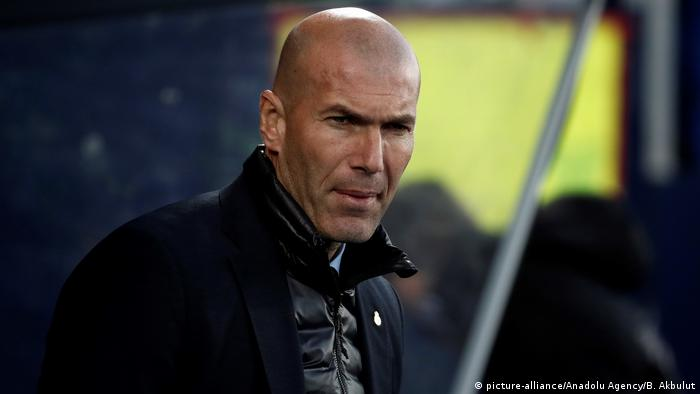 Real Madrid, Zinedine Zidane (picture-alliance/Anadolu Agency/B. Akbulut)