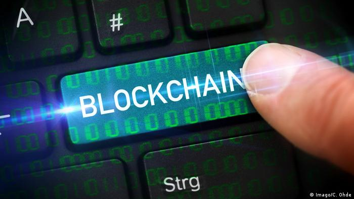Symbolbild Blockchain (Imago/C. Ohde)