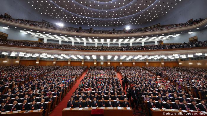 Chinas Volkskongress - Jahrestagung (picture-alliance/dpa/xinhua)