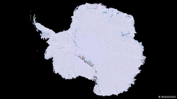 Antarctica as seen from above