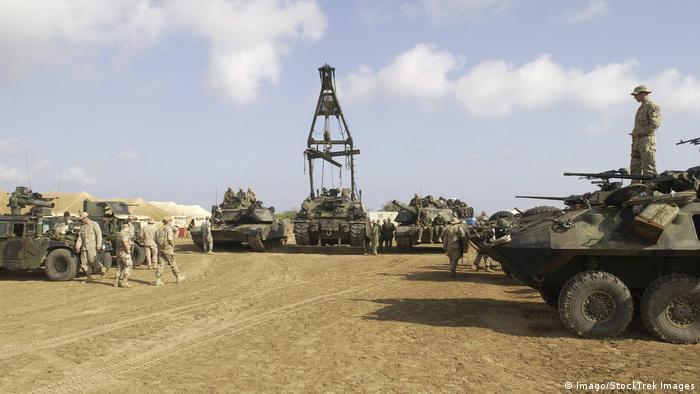 Dschibuti US-Militärstützpunkt Camp Lemonnier