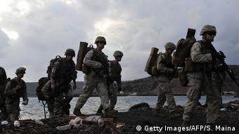 Морпехи США в Джибути, 2016 год