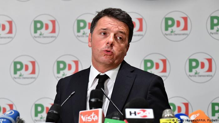 Matteo Renzi former PD premier and former PD leader