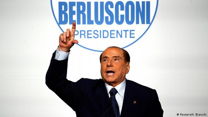 Italien Forza Italia Silvio Berlusconi PK