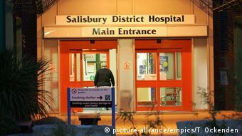 UK Salisbury Krankenhaus (picture-alliance/empics/T. Ockenden)
