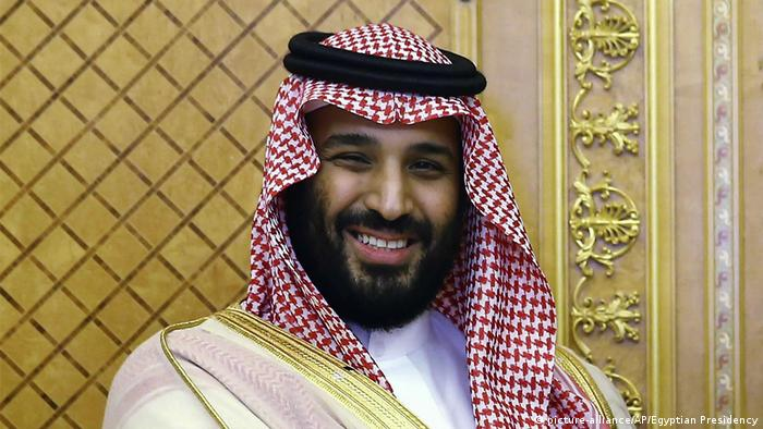 Saudi Crown Prince Mohammed bin Salman (picture-alliance/AP/Egyptian Presidency)