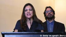 Tegucigalpa, Mitglied des Europäischen Parlaments Marisa Matias