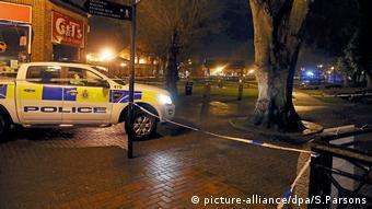 Großbritannien, Salisbury, Russischer Ex-Spion wegen Vergiftung im Krankenhaus (picture-alliance/dpa/S.Parsons)