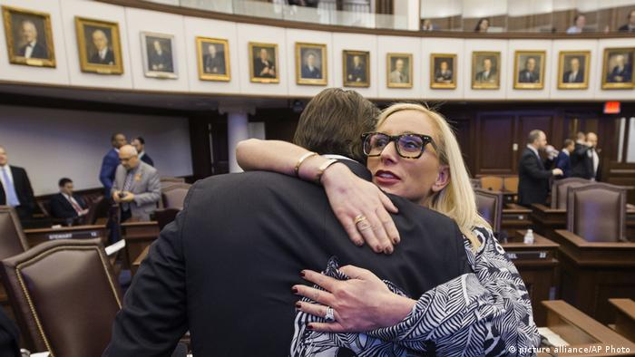 Florida, Tallahassee, Lauren Book, Bill Galvano (picture alliance/AP Photo)