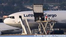 Lufthansa Frachtflugzeug