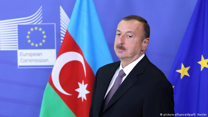 Ilham Aliyev at the EU