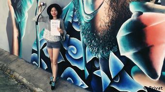 Journalistin Sophia Huang Liqin