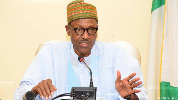 Chefe de Estado nigeriano, Muhammadu Buhari