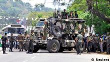 Sri Lanka Unruhen