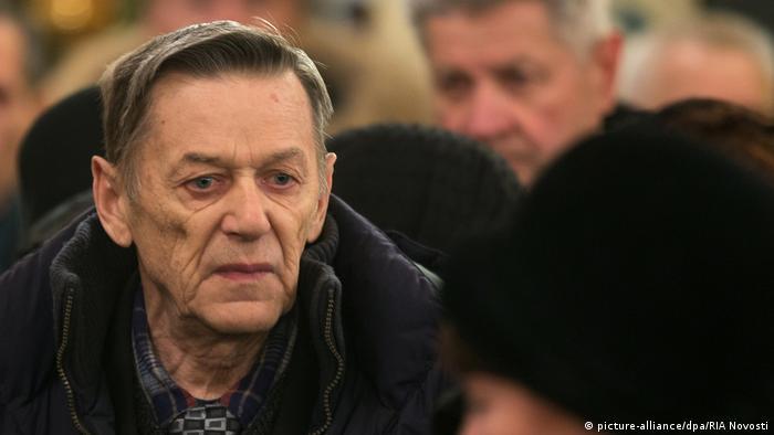 O dissidente russo Viktor Kalashnikov