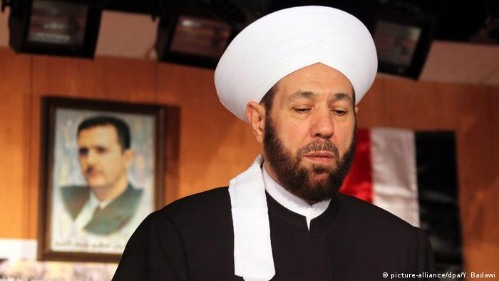 Syrien Ahmed Badr el-Deen Hassoun Großmufti (picture-alliance/dpa/Y. Badawi)