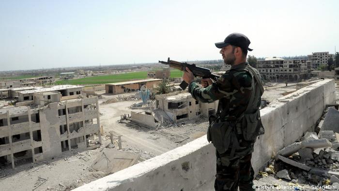 Сирійський солдат у Східній Гуті