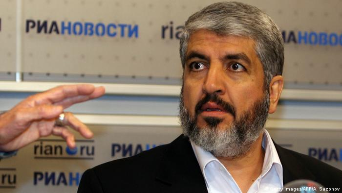 Exiled Hamas leader Khaled Meshaal (Getty Images/AFP/A. Sazonov)