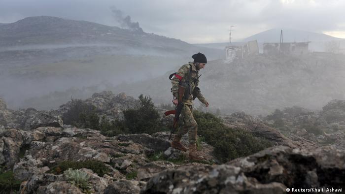 TSK Afrin'de, Suriye Ordusu Doğu Guta'da ilerliyor