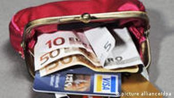 Geldbörse - Symbolbild Inflation