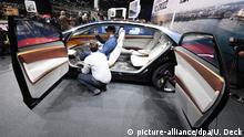 Schweiz Autosalon Genf - Erster Pressetag