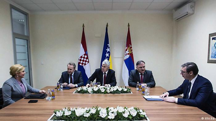 Bosnien-Herzegowina Treffen in Mostar