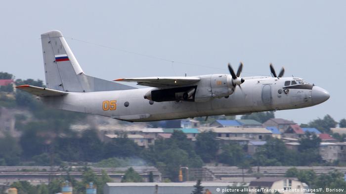 Rus uçağı Suriye'de düştü