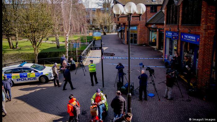 Großbritannien Salisbury Krankenhaus Sergei Skripal, vergifteter russischer Ex-Spion (Imago/i Images)