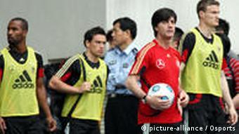 Trening njemačke reprezentacije u Kini
