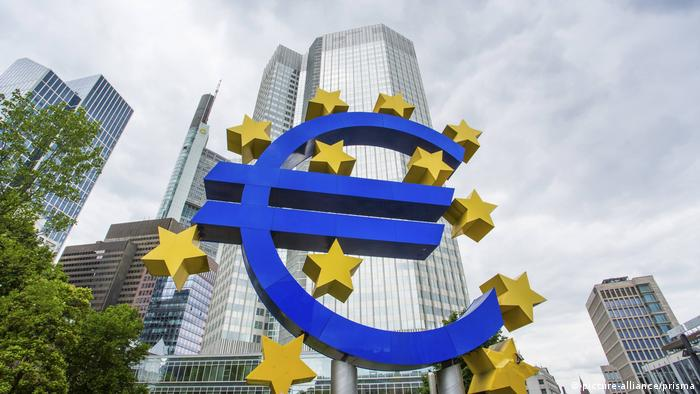 European Union logo as a euro sign