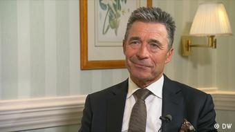 DW Interview Zhanna Nemtsova mit Anders Fogh Rasmussen, Ex-Generalsekretär der Nato (DW)