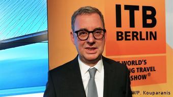 Deutschland PK zur Internationale Tourismusbörse Berlin (ITB) (DW/P. Kouparanis)