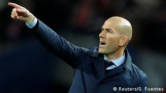 UEFA Champions League Achtelfinale | Paris St. Germain - Real Madrid | Zinedine Zidane (Reuters/G. Fuentes)