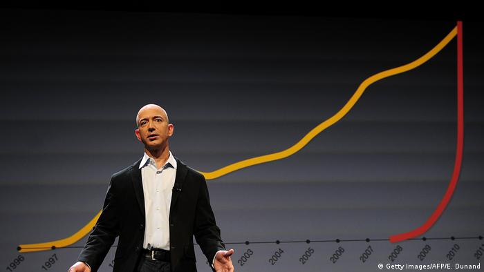 Amazon Chef Jeff Bezos (Getty Images/AFP/E. Dunand)